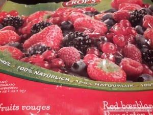 Mascarpone met rood fruit