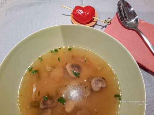 champignonsoep voor ♡ hartendieven