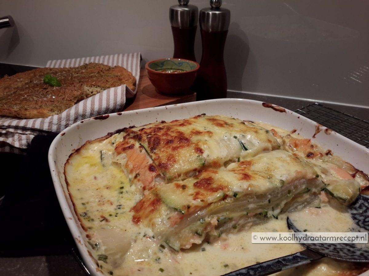 Witlof lasagne om je vingers bij af…
