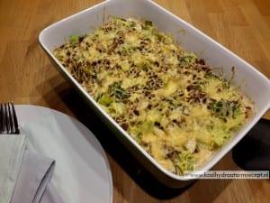 Ovenschotel broccoli kip creme fraiche