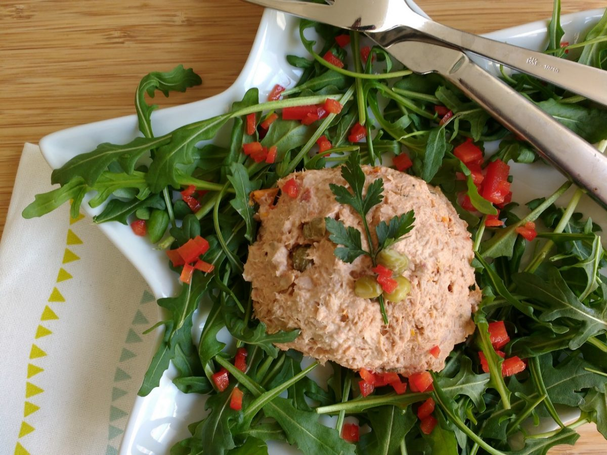Tonijnsalade met knapperige kappertjes