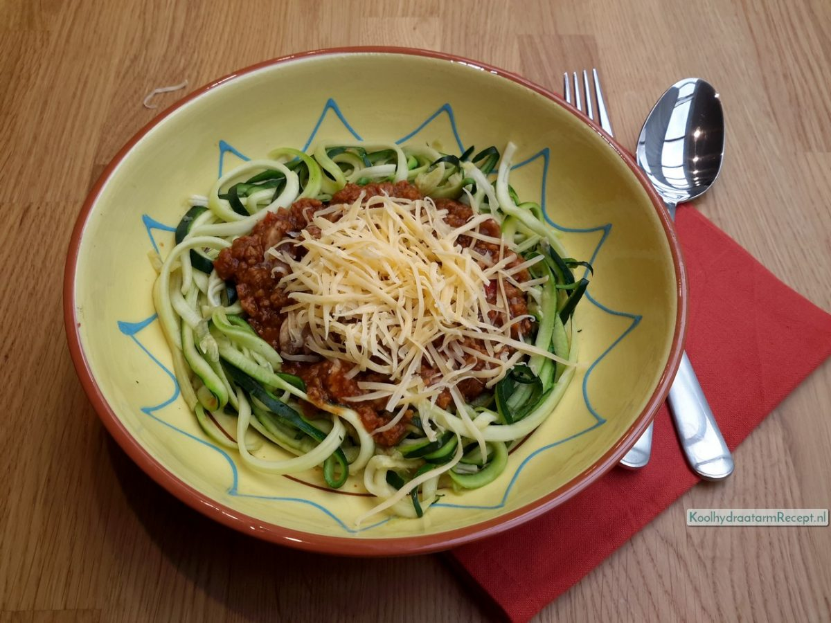 Traditionele courgetti
