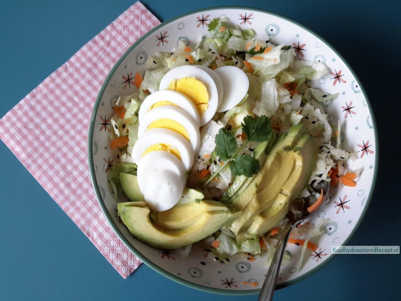 Eet zuurkoolsalade!