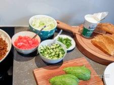 groente vulling