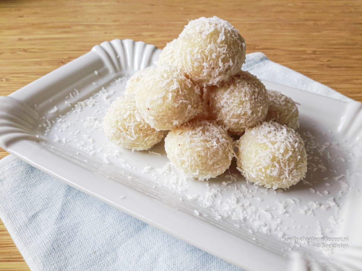 noten kokos bonbons met citroen