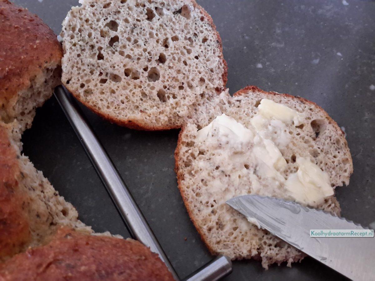 lekker koolhydraatarm brood