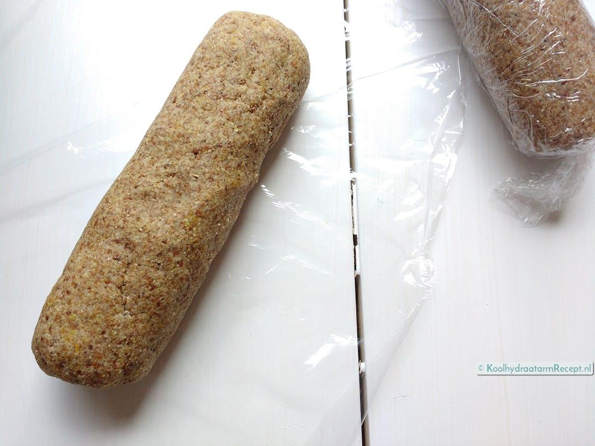 koolhydraatarme tortilla taco nachochips deeg twee rollen in folie