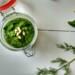 spinazie dillepesto, in een potje