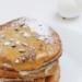 pannenkoekjes met karamelsaus