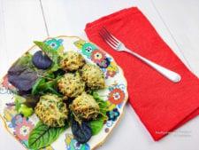 gevulde champignons met kruiden