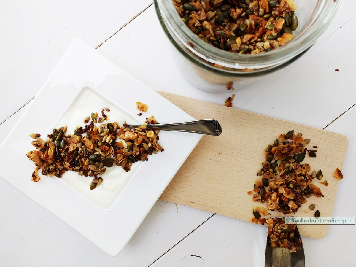 Homemade granola, suikervrij hippievoer