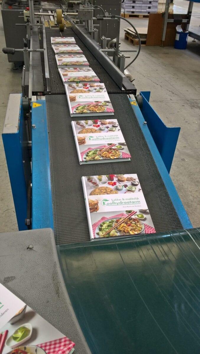 Kookboeken op transport