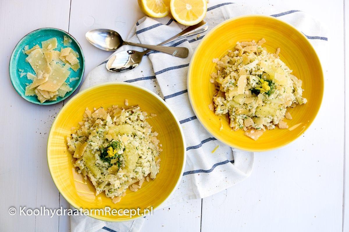 citroen risotto met venkel