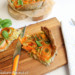 groenteroosjes taart met courgette en wortel