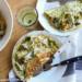 salade wrap met tonijn