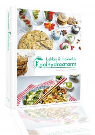 Lekker & makkelijk Koolhydraatarm, kookboek cover
