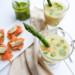 asperge gazpacho met kruidenolie