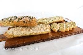 Koolhydraatarm stokbrood, perfect bij de bbq