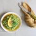 koolhydraatarme pesto met dille, pistache en sinaasappel