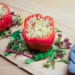 paprika gevuld met notengehakt