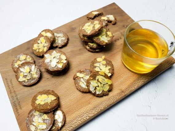 suikervrije sinterklaas koekjes