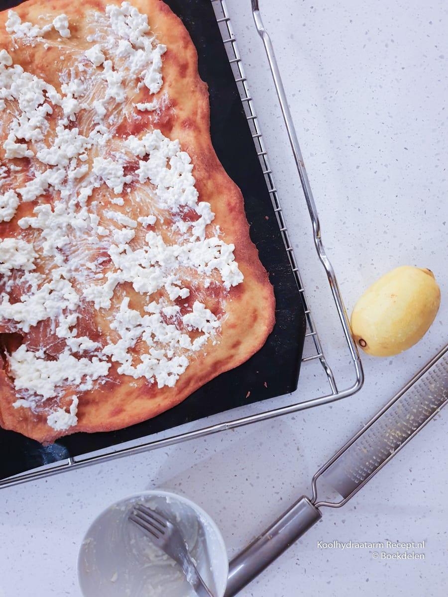 flammkuchen met spinazie