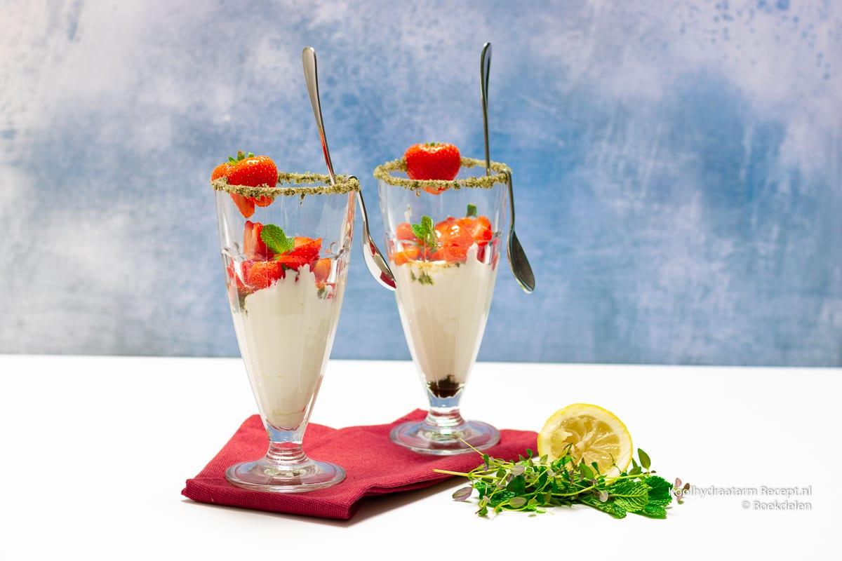gemarineerde aardbeien