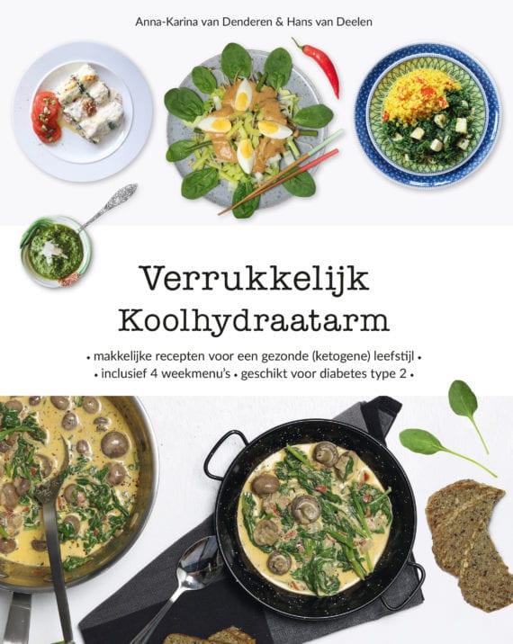 Kookboek koolhydraatarm Verrukkelijk Koolhydraatarm- 9789082659870