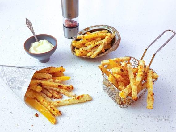 verrukkelijke groente friet