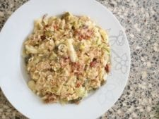 Spitskool salade met tonijn van Gaby