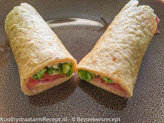 Koolhydraatarme tortilla wraps van Kirsten