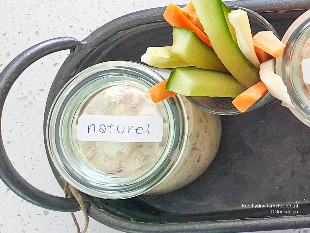 koolhydraatarme-sandwich-spread - naturel