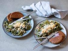 postelein met macadamia en kaas