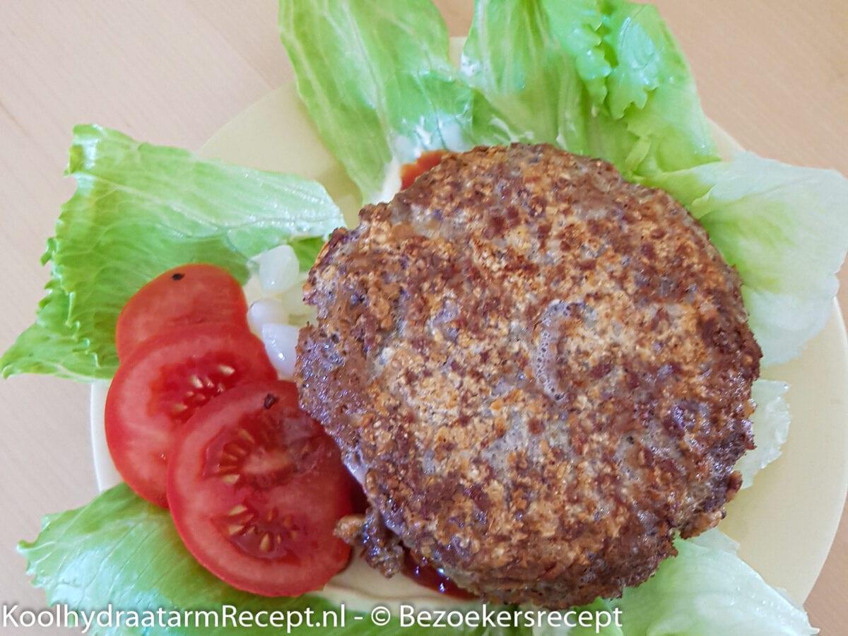 homemade hamburger van Zita