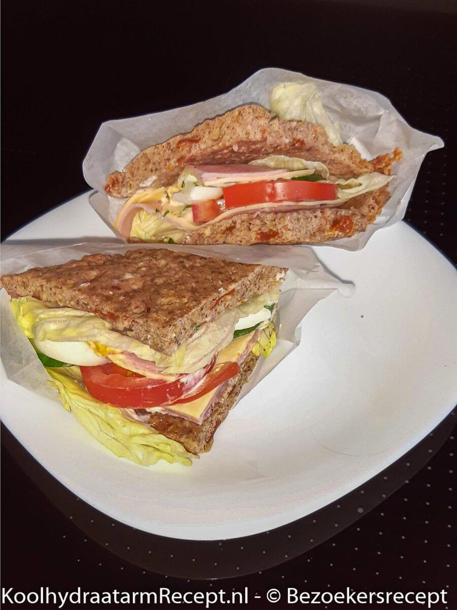 koolhydraatarm Italiaans broodje