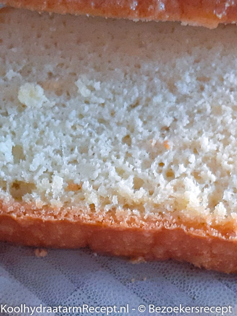 koolhydraatarm witbrood
