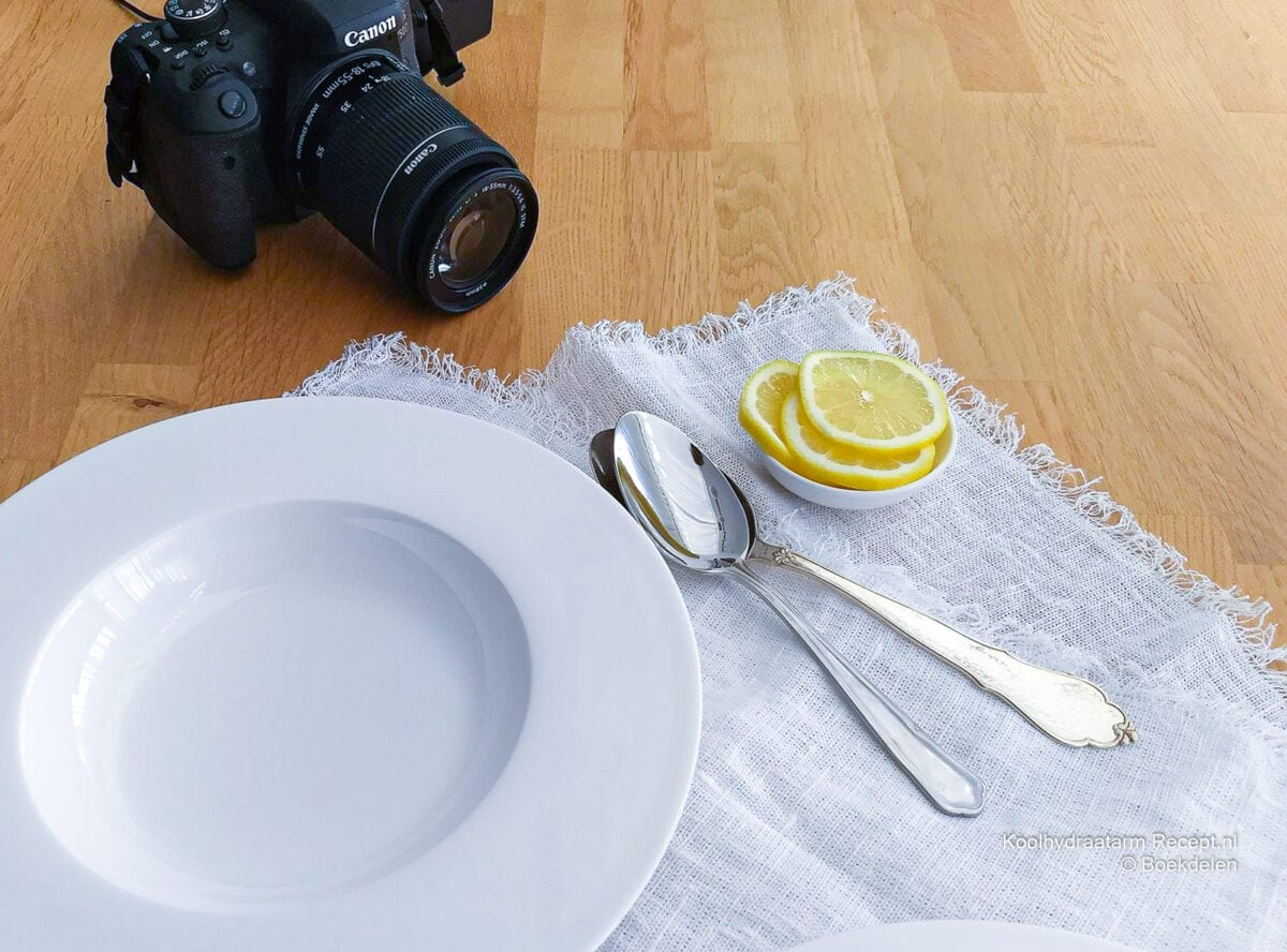 tips om een goede foodfoto te maken