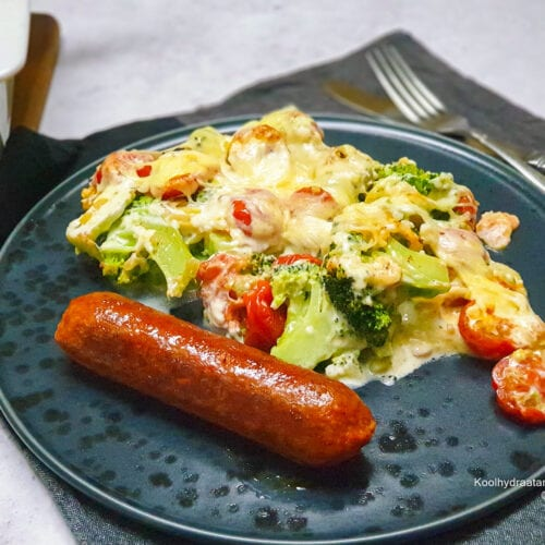 Broccoli tomaat ovenschotel