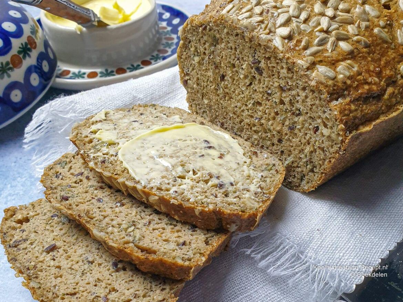 koolhydraatarm pittenbrood
