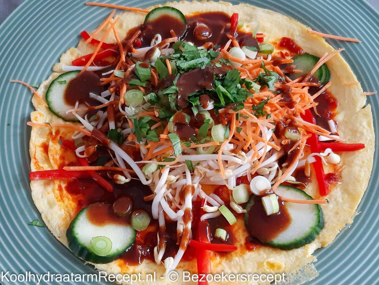 koolhydraatarme indische omelet
