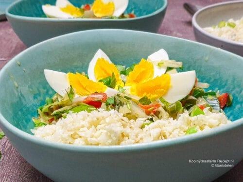bloemkoolrijst-met-groentecurry-en-ei