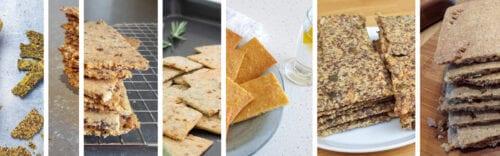 koolhydraatarme crackers of toast